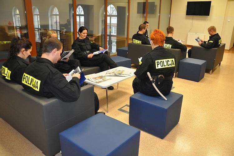 Biblioteka i czytelnia Szkoły Policji