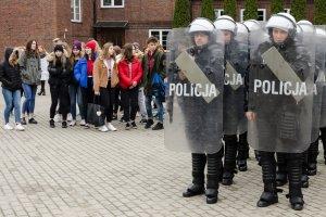 Pierwszy dzień wiosny w Szkole Policj